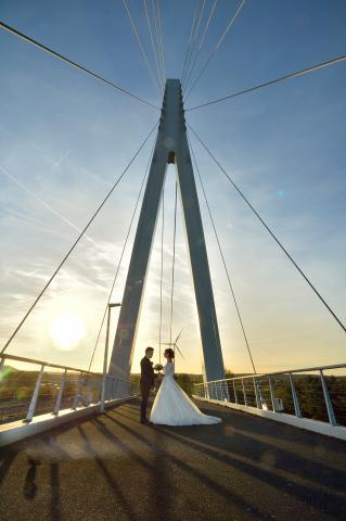 sunset huwelijk