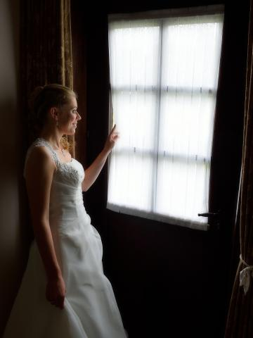bruid deur