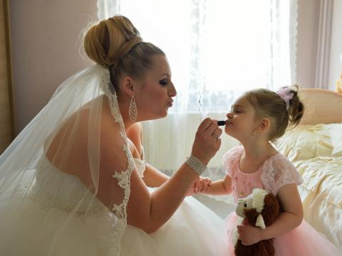 bruidsmaisje