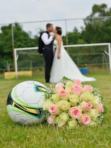 huwelijk voetbal